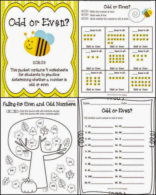 Odd and Even Worksheets