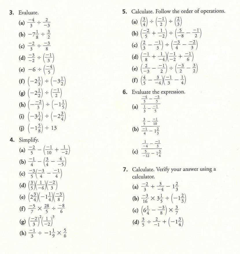 Algebra Math Worksheets Pdf Resume Sample For General Manager Order Operations With Parentheses Fractions Math