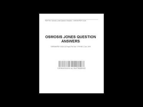 Osmosis Jones Question Answers