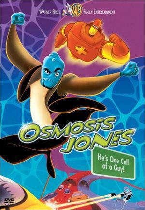 Osmosis Jones is a 2001 live action animated edy film directed by Tom Sito and Piet Kroon for the animated segments and the Farrelly Brothers for the