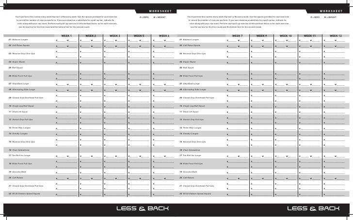 17 best ideas about P90x Worksheets on Pinterest
