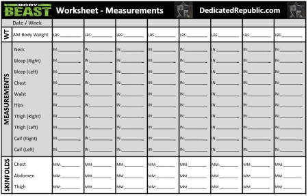 p90x3 worksheets. Black Bedroom Furniture Sets. Home Design Ideas
