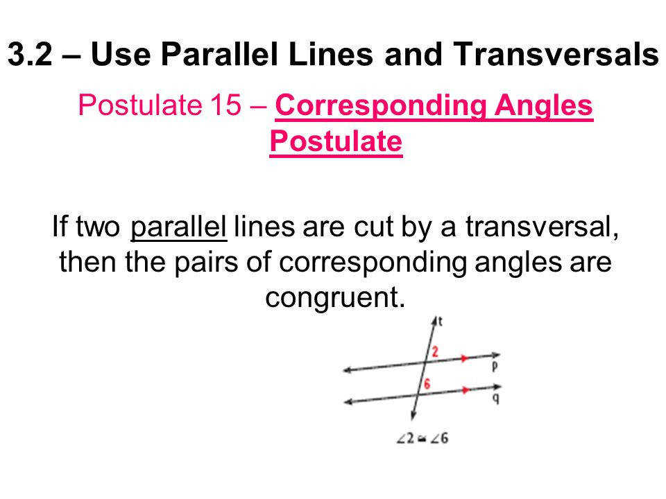 3 2 U2013 Use Parallel Lines And Transversals Ppt Video line Download