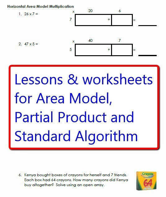 Multiplication Worksheets partial product multiplication worksheets Watch more like Algorithm Examples For 4th Grade