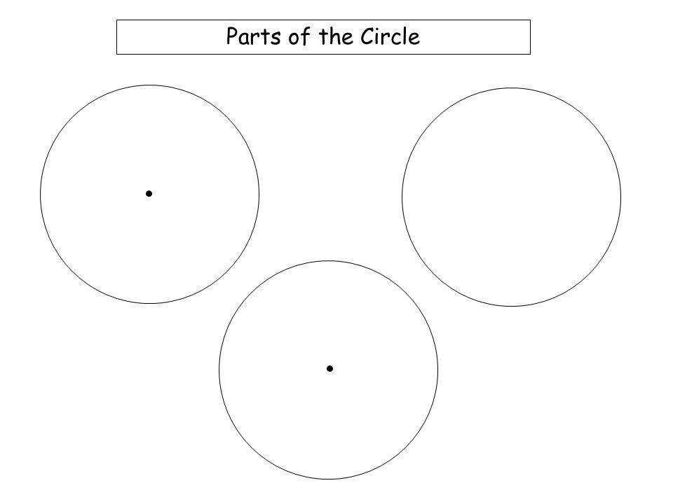 32 Parts of the Circle Worksheet 1