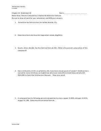 Percentage position Worksheet Molar Mass And Percent position Worksheet Ideas Ppihorg With Molar Mass And