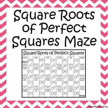 Seems like students can never enough practice at perfect squares This is a perfect