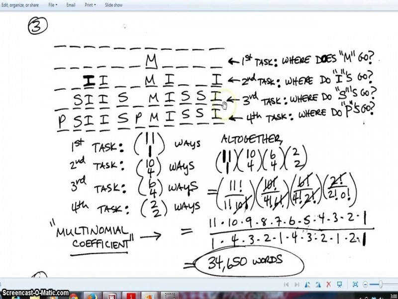 """9 photos of the """"Permutation And bination Worksheet"""""""
