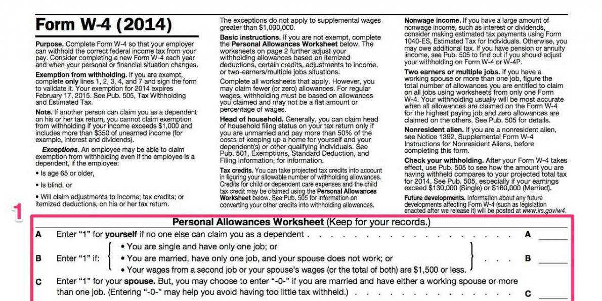 how to fill out the most plicated tax form youll see at a new job