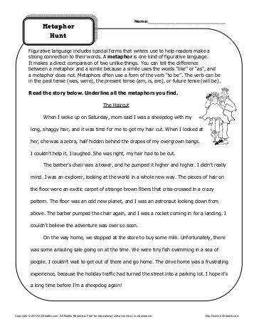 Personification worksheets high student it is and presentation on pinterest