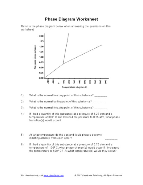 WKS001 025 Phase Change Worksheet 1 A 12 oz can of soda