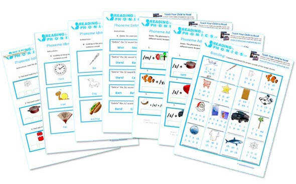 Reading and Worksheets for Phonics