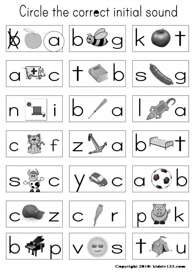 Free Phonics Worksheets Wallpapercraft Kindergar Free Kindergarten Phonics Worksheets Worksheet Medium