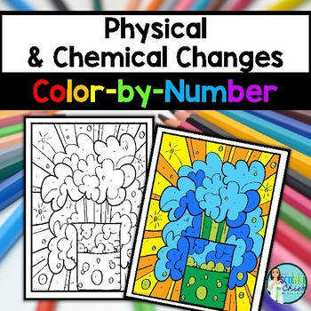 Physical & Chemical Changes Color by Number