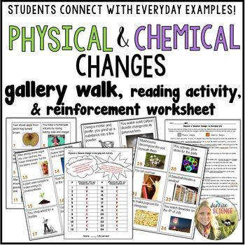 Physical and Chemical Changes Identifying Everyday Examples Lesson