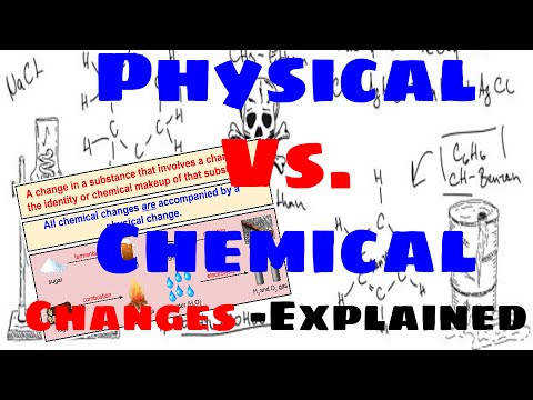 Physical Vs Chemical Changes Explained