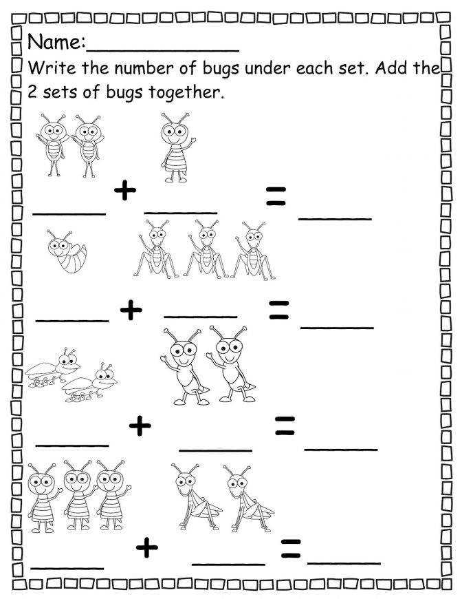 Pre K Worksheets Wallpapercraft Math Counting Math Worksheet For Pre K Worksheet Medium