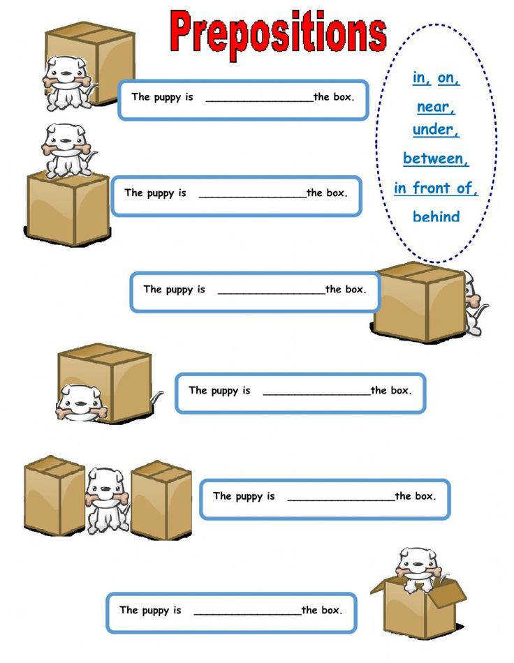 Prepositions of place interactive and able worksheet Check your answers online or send them to