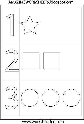 Best 25 Preschool number worksheets ideas on Pinterest