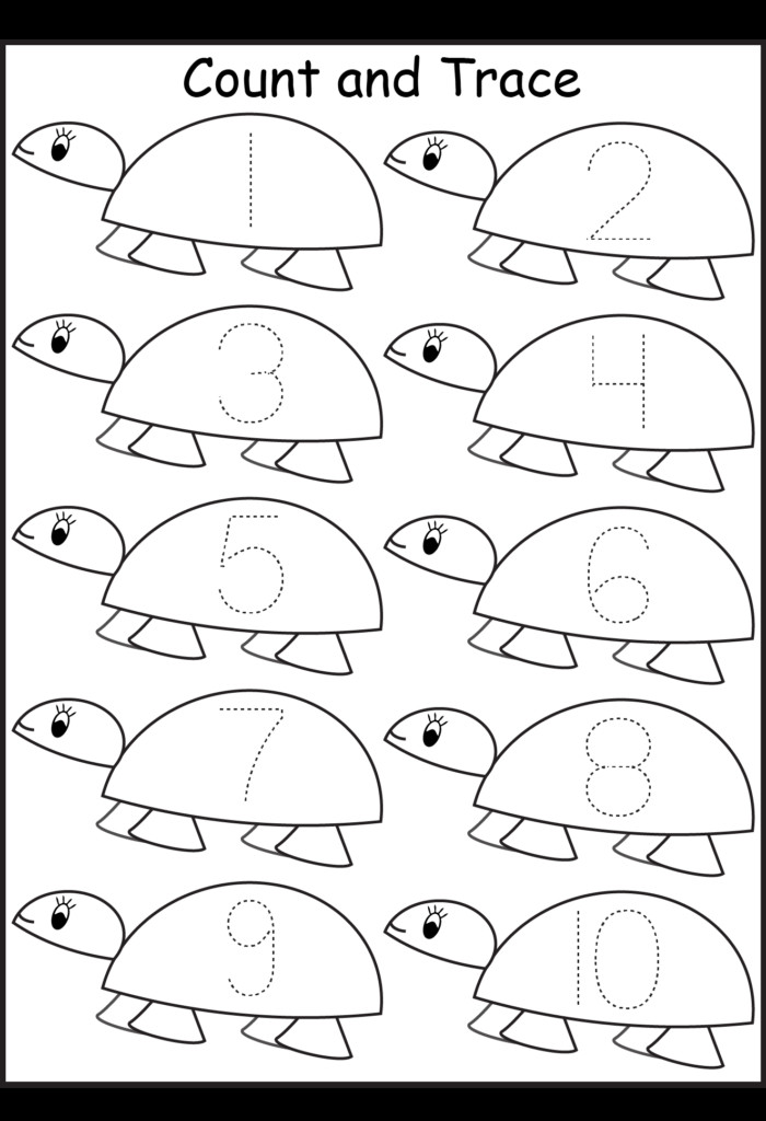 Number Tracing Worksheets For Kindergarten 1 10 Ten Worksheets Preschool Counting Worksheets 1 20 Preschool Printables Counting Preschool Counting