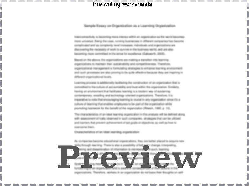 Pre writing worksheets Close this template window when done printing kidzone