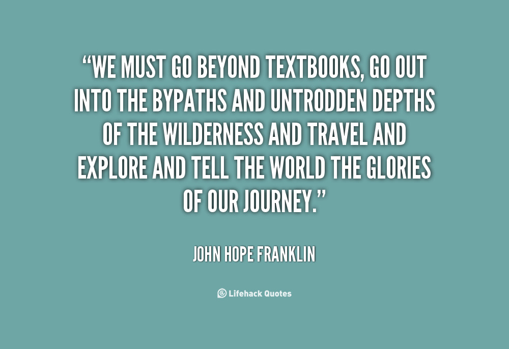 Defining Primary & Secondary Sources Reading · quote John Hope Franklin we must go beyond