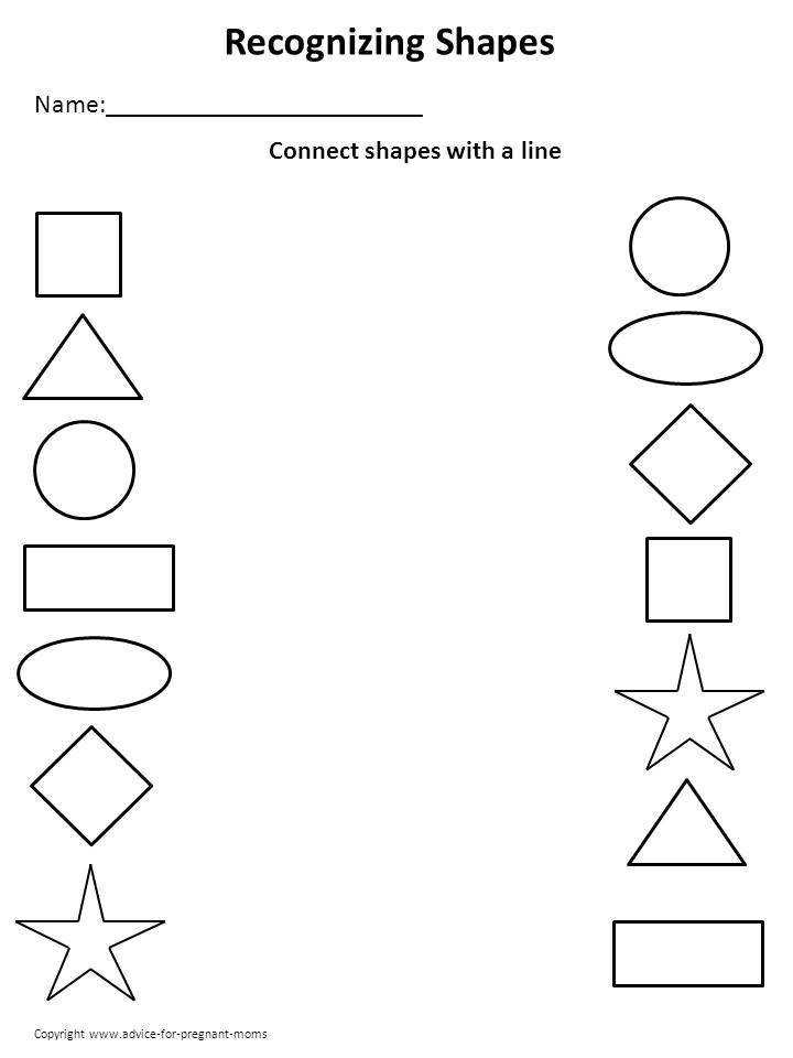 Printable Preschool Worksheets  HomeschooldressageCom