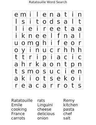 printable word scrambles for