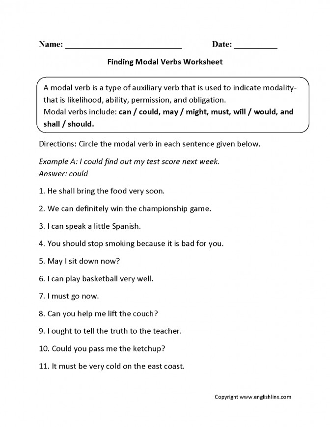 Verbs Worksheets Modal Subject Verb Agreement Activity 3rd Grade Finding Work Subject Verb Agreement Lesson Plan