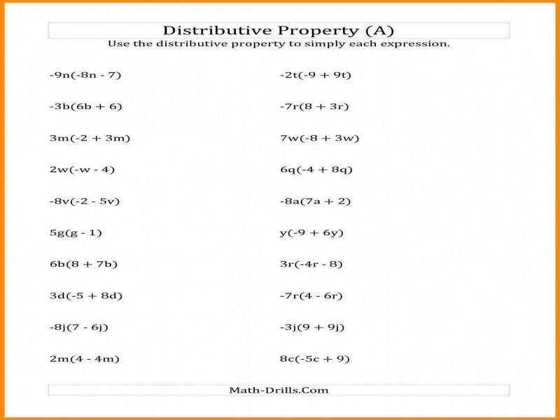 7 Exponent Properties Worksheet