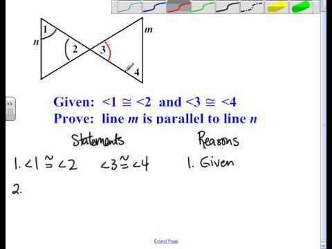 Proving Lines Parallel Proofs avi