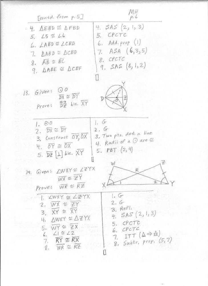 Medium Size of Worksheet geometry Worksheet Congruent Triangles Asa And Aas Answers Proving Triangles Congruent