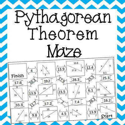 TB1TQFDWYQW58TI Pythagorean Theorem Maze Cover