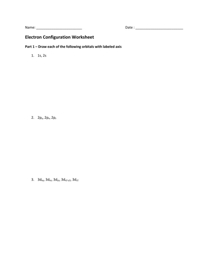 Medium Size of Worksheet electron Configuration Worksheet 2 Answers Valence Electrons Worksheet Answers Periodic Table