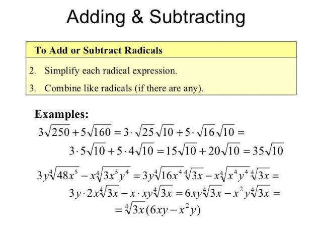 Adding Variables With Exponents Simplifying Radical Expressions Rational Equations 11 728 Visualize Enticing