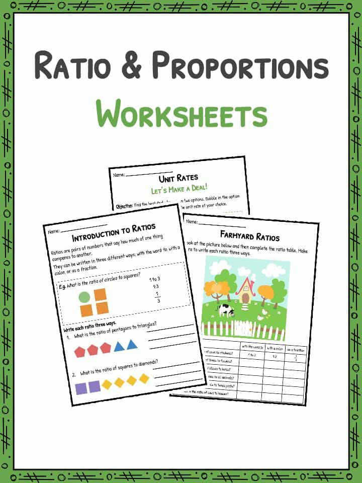 Download the Ratio and Proportion Worksheets