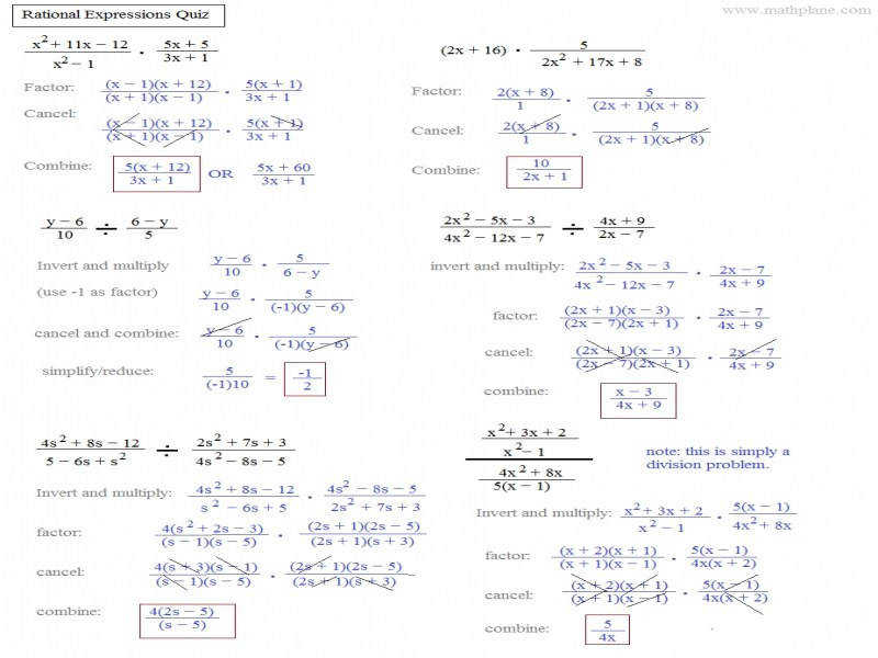Free Worksheets Library Download And Print On. Rational Expressions Worksheets Algebra 2 Educational. Worksheet. Rational Expressions Worksheets At Mspartners.co