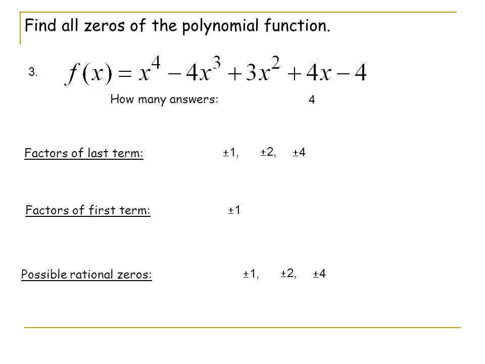 Rational Zero Theorem Worksheet Samsungblueearth
