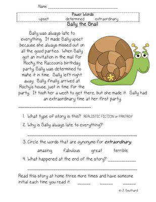 May Reading Supplement is Posted Fun in First Grade