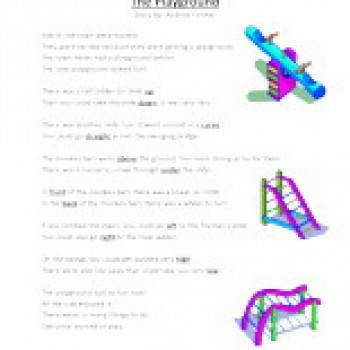 Second Grade Reading prehension Worksheet The Playground