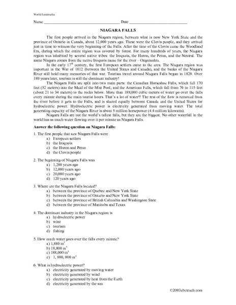 Free 5th Grade 7th Grade free printable reading prehension worksheets for 7th grade Languages Reading prehension Worksheets For