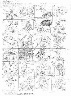 Rebus Puzzles Worksheet New Christmas Puzzle