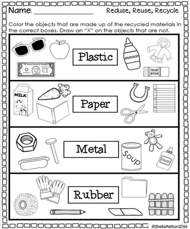 Reduce Reuse Recycle Worksheets Eleaseit Thousands of