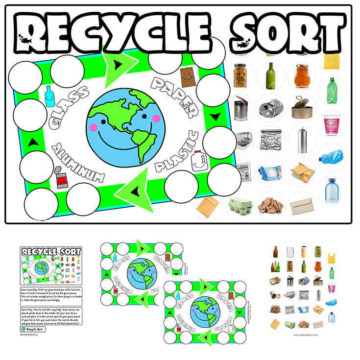 Recycle Sorting Game