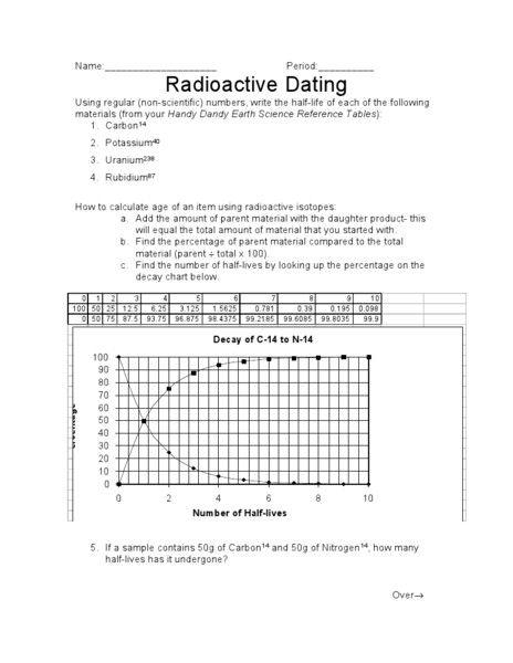 Investigation 18b relative dating answers