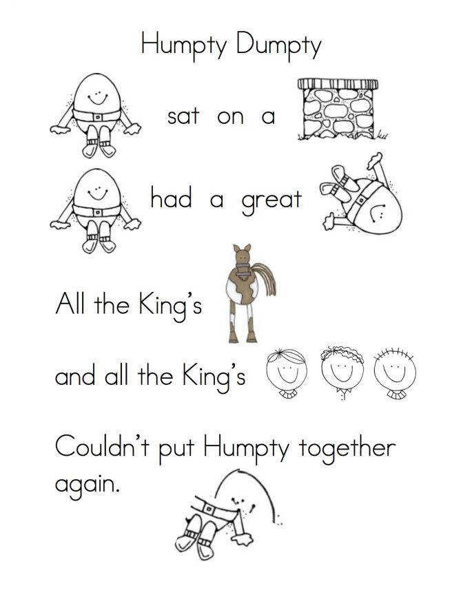 More Fun With Nursery Rhymes Finger Plays And Pre School Rhyming Practice Worksheets For Kindergarten 94ac6df97c a4689e5e68