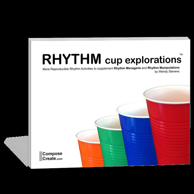 Rhythm Cup Explorations 1 Students are loving this and many of the other rhythm books