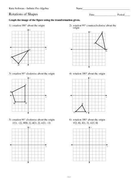 Rotations Worksheet 8th Grade Capture Rotations Worksheet 8th Grade Shapes Captures Rotation Math Worksheets
