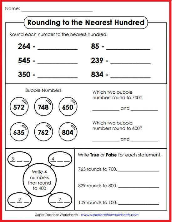Super Teacher Worksheets has an excellent collection of rounding resources Find printables for rounding to the nearest ten nearest hundred