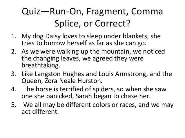 Best Solutions of Identifying Fragments And Run Sentences Worksheets Also Reference